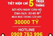 Căn hộ cao cấp / Tiết kiệm 5 triệu/tháng sở hữu căn hộ cao cấp. Xem chi tiết http://www.HungNgan.org