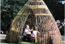 Creative Shelters / Human and animal shelters and tools