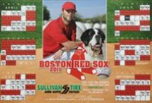 Red Sox Magnet Retrospective / Sullivan Tire has been producing Red Sox Magnet Schedules since the 1980s. The first magnetic schedule was produced in 1999, and has been a yearly tradition for 15 years!