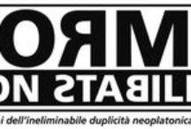 FORME non stabilite / Figurazioni dell'ineliminabile duplicità neoplatonica di Plotino
