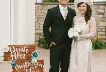 Modern Vietnamese Weddings / A modern take on the traditional Le Hoi (also known as Dam Hoi, Dinh Hon, tea ceremony, betrothal) and Don Dau (or ruoc dau).