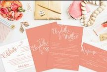 Wedding Invitations / Because I love paper goods!