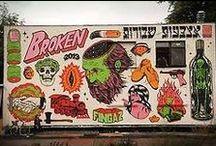 Art | Street Art / by Amy Sauceda | Amoeba Landing