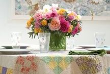 DECOR Dining Rooms / Dining rooms are all about the table. Here are ideas for spaces from small to large!