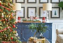 SEASON | Christmas / The most wonderful time of the year...make it special by adding easy DIY Christmas decorations. Lots of ideas for gifts, ornaments and of course...wreaths!
