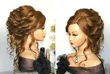(LONG HAIR)  Updos / by Amber Bradley-carter