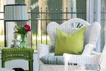 DECOR Porches / Ideas and inspiration to make this outdoor space inviting and function just like an indoor room.