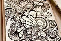 Crea: Doodling / by Malene Holmgaard Iversen