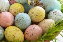 Crea: Easter eggs / by Malene Holmgaard Iversen