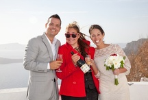 Santorini Wedding Planner / My name is Manto and I am the Wedding Coordinator of Travel Zone Greece. You don't have to worry about a thing for your wedding in Santorini. Your accommodation, the setting, the reception, the theme, I can assist you with everything if you wish!My eye is on the Santorini Caldera view experiencing the most wonderful everyday life. Natural beauty at its best around me, yummy smells, traditional and from all over the world flavors, background the Greek blue sky and sea bathed into our famous sun.  / by Santorini Weddings