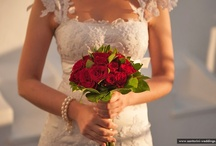 Santorini Wedding Flowers / Roses, lilies, margaritas or orchids, simple and minimalist or luxuriant bouquets... flowers the symbols of joy cannot miss from your special day, your wedding day. They are undoubtedly closely connected with weddings, since they increase the romance of the wedding atmosphere and usually brides love them. / by Santorini Weddings
