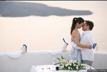 Santorini Wedding Ceremony / Pictures from wedding ceremonies in Santorini, perfect destination for weddings abroad. / by Santorini Weddings