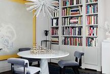 Decorating - Bibliophile / Books stack up in any home.