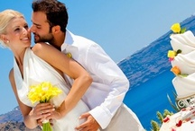 Santorini-Weddings.info / For an unforgettable destination wedding on the beautiful island of Santorini, you have nothing but to contact the wedding organisers of Travel Zone Greece. Our fixed or custom made wedding packages and personalised assistance by Manto, the wedding coordinator of www.santorini-weddings.info will guarantee the successful organisation of your wedding ceremony. / by Santorini Weddings
