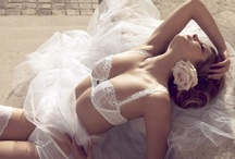 Bride Lingerie / Unique ethereal pieces for the bride...wedding lingerie as you have not seen it before, chemises, robes, bras, stockings, bustiers all for a boudoir look for underneath the weeding dress or for unforgettable honeymoon nights / by Santorini Weddings