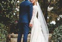 Garden Weddings / Plan an EJC Arboretum Garden Wedding with JMU Purple and Gold and outdoor decorating wedding ideas.