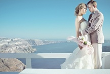 Dream Wedding in Santorini / Dream wedding packages Santorini. A unique destination wedding in the most romantic Greek island, Santorini. Organized by the expert wedding planners of Travel Zone Greece / by Santorini Weddings