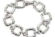 Designer Bracelets / Bracelets, bangles and cuffs from Jewelista's international jewelry designers including Lika Behar and Caroline Ballou.