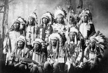 """Native Americans / These people inhabited """"our"""" country long before we did. / by Larry Ridgwell"""