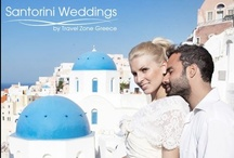 Santorini Wedding packages / Santorini wedding packages for all tastes and all price ranges. Get married in Santorini with Travel Zone Greece wedding planners organizing a dream ceremony on the most romantic Greek island. Find more on Santorini wedding venues and our services visiting www.santorini-weddings.info / by Santorini Weddings