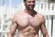 Hugh Jackman - 4 Interviews with The Wolverine Himself!!! / Check out our Interviews with the HOTTEST, TOUGHEST Member of the X-Men team and of course the 40 images we have of the Stud with AND withOUT his shirt!