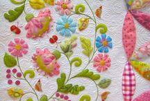 Killer Quilts: Applique / by Jessie Bentley Patel