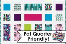 Killer Quilts: Fat Quarter Friendly / by Jessie Bentley Patel