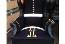 Amazing Chairs / Check out our amazing new chairs..... very bespoke and made to order!! No 2 chairs the same!!