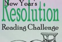 New Year's Resolution Reading Challenge / Books I read for the annual New Year's Resolution Reading Challenge at Joy's Book Blog