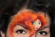 Crea: Face paint / by Malene Holmgaard Iversen