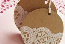Crea: Christmas gift tags / by Malene Holmgaard Iversen