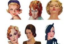 (HAIRSTYLES & MAKE-UP) 30's / by Amber Bradley-carter