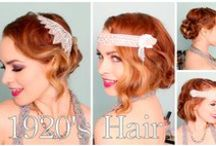 (HAIRSTYLES & MAKE-UP) 20's / by Amber Bradley-carter