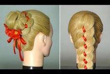 (LONG HAIR) Everyday styles / by Amber Bradley-carter