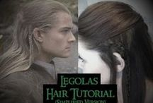 (LONG HAIR) Men's Hair Ideas / by Amber Bradley-carter