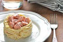 Pensando al Menù.... / Raccolta di idee utili nella preparazione di un menù, ad esempio un pranzo delle feste in famiglia o una cena tra amici