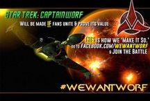 #WeWantWorf Campaign / This is the Official #WeWantWorf Campaign Page on pinterest. You'll find tons of great photos documenting the entire movement from the very beginning! Please support the campaign by visiting: www.WeWantWorf.com  / by TheCinemaSource