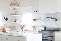 Kitchen Ideas / Inspiration and ideas for making over my kitchen