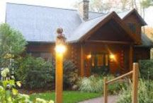 Model Log Home / This is our 2,200 sq. ft. Model Log Home in Mendon, MA