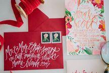 PAPER GOODNESS /  invites & paper goods