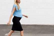 D r e s s i n g T h e B u m p / Outfit inspirations for mamas-to-be! :)