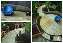 Gardens created by Dorset Design & Build / Gardens have been designed and created by us, Dorset Design and Build