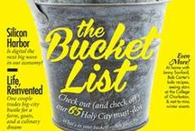 bucket list / by Carlie Brown