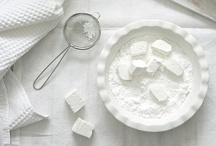 Food in white