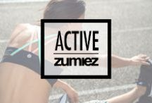 Stayin' Active / Yoga pants, sports bras, athletic shorts... Whatever you need for an active lifestyle!
