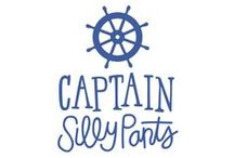 Captain Silly Pants / 100% Organic Baby Swaddle Blankets  / by GroopDealz