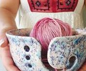 Yarn Bowls - Knitting Bowl - Pottery Yarn Bowl - Ceramic Yarn Bowl / Pottery Yarn Bowls, Ceramic Yarn Bowls, Knitting Bowls, Crochet Bowls, oh my!