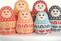 Matryoshka/Babushka/Russian Dolls / by Kelly Konesheck