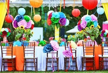 Reception ideas / Colour theming, room layouts, reception styles / by Northern Beaches Wedding Expo ❤