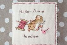 Cross stitching / by Reina van der Vinne